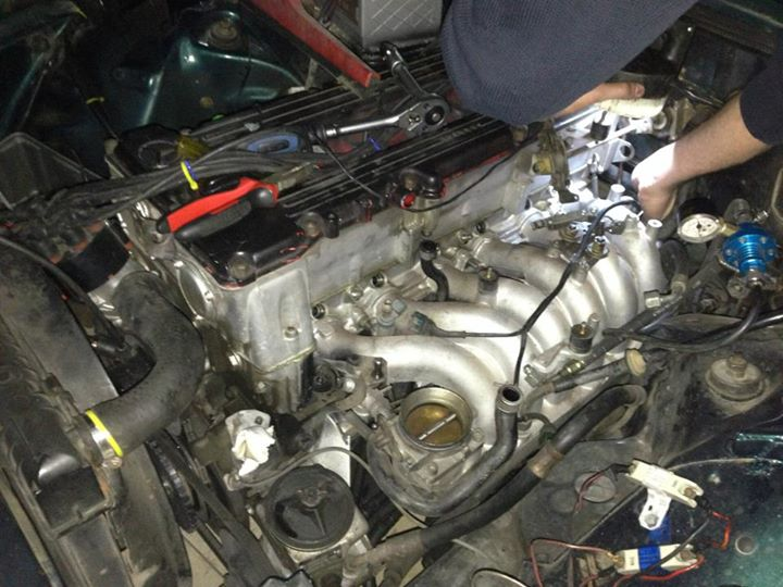 Project W123 M110 Supercharger/Turbo | Mercedes-Benz turbo