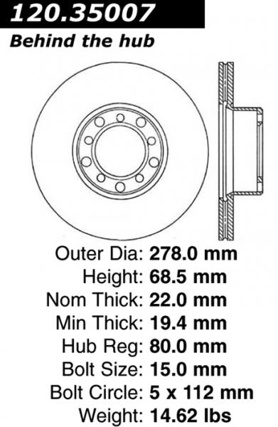 Rotor W126 1st Gen
