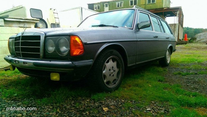 w123 280TE compound