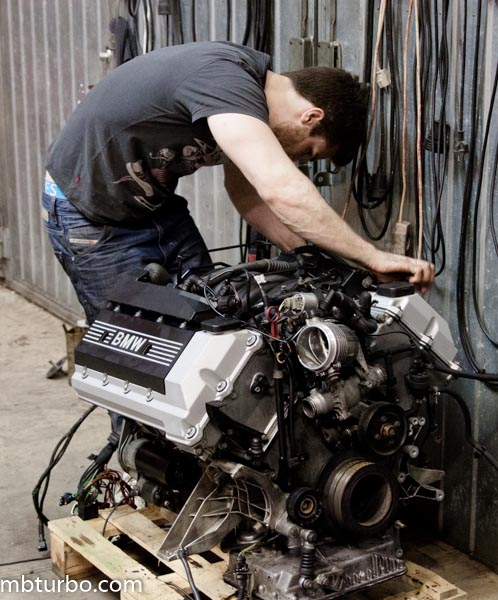 e39 540i starter replacement