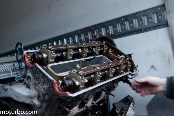 m62b35 dissembly intake manifold (2)
