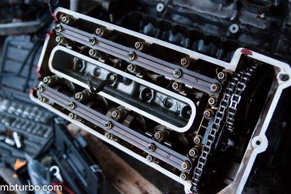 m62b35 dissembly intake manifold (3)