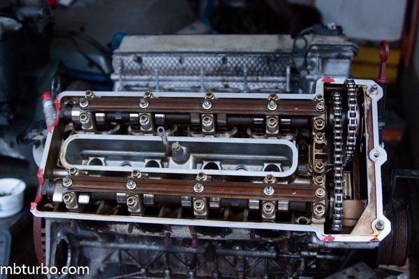 m62b35 dissembly intake manifold (4)