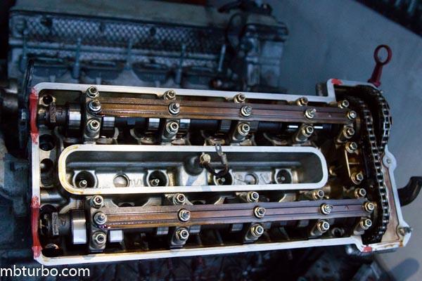 m62b35 dissembly intake manifold (6)