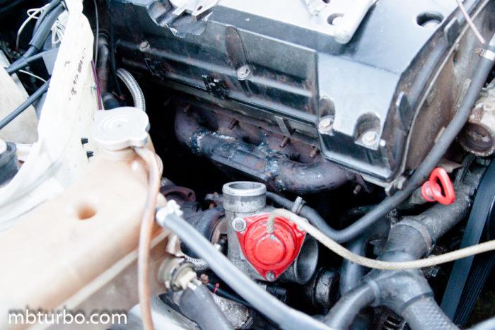 turbo manifold m111