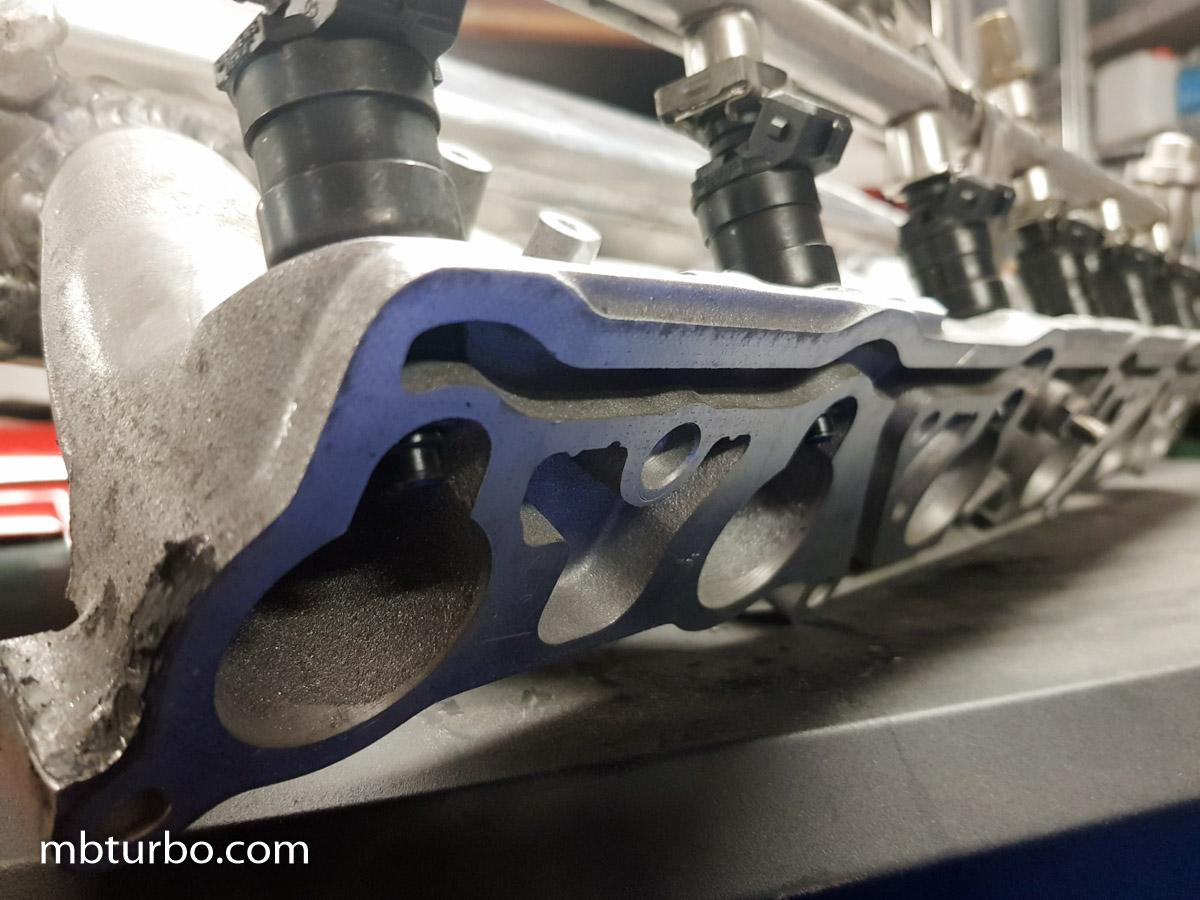 M103 turbo intake manifold